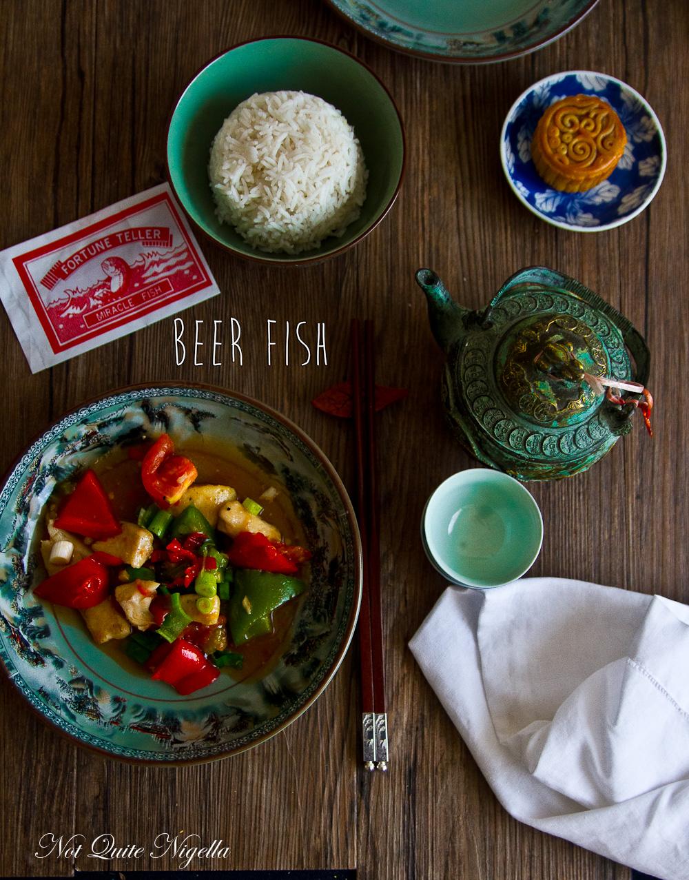 Beer Fish Chinese