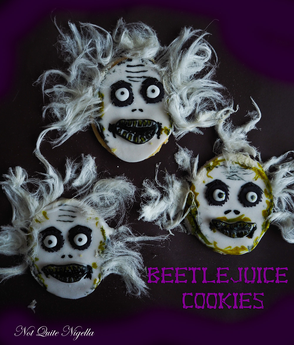 Beetlejuice Cookies