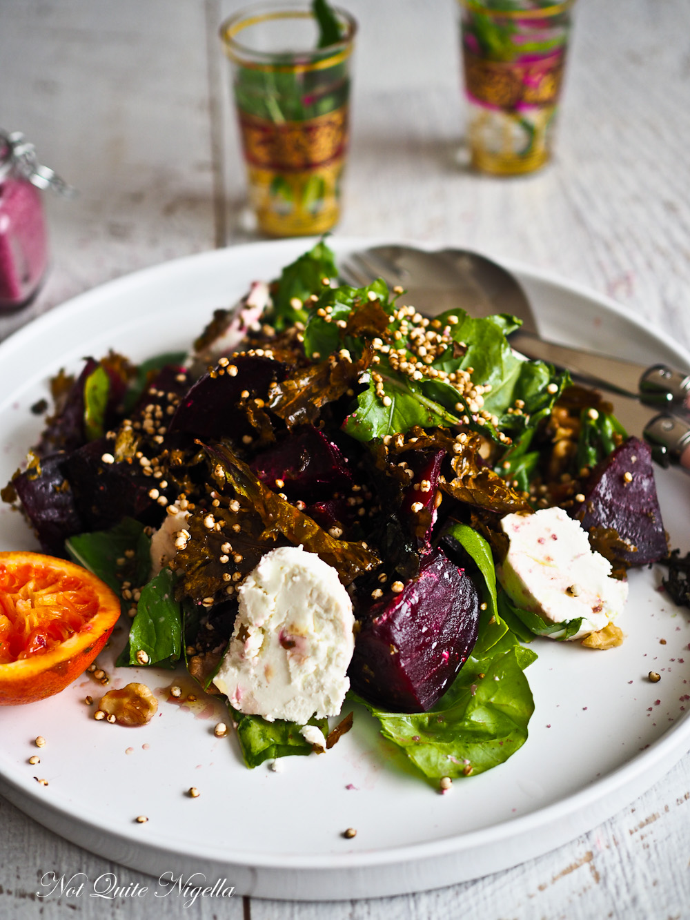 Beetroot Kale Salad