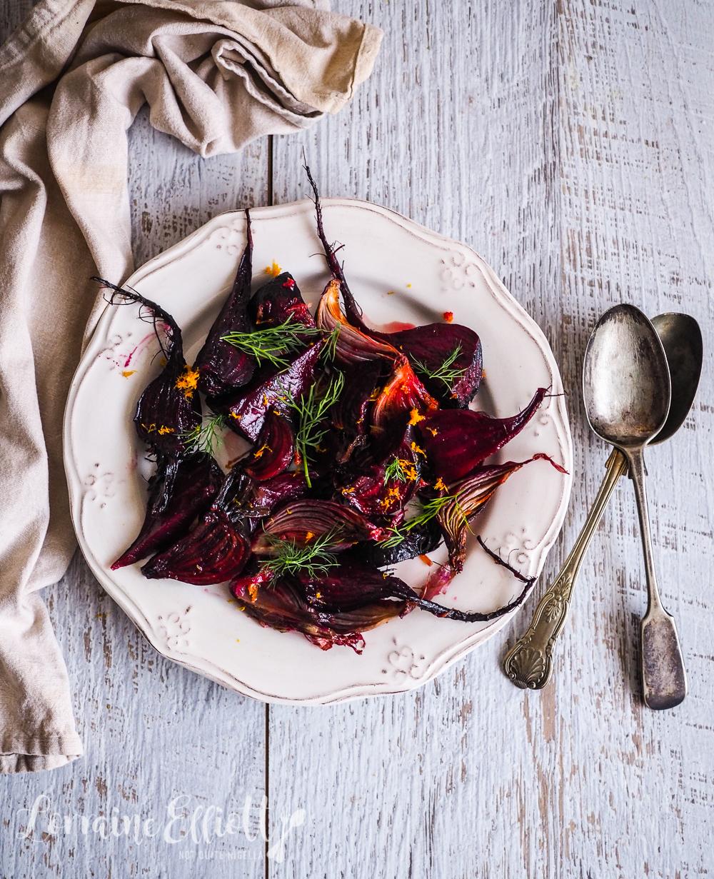 Roasted Beetroot & Orange Salad