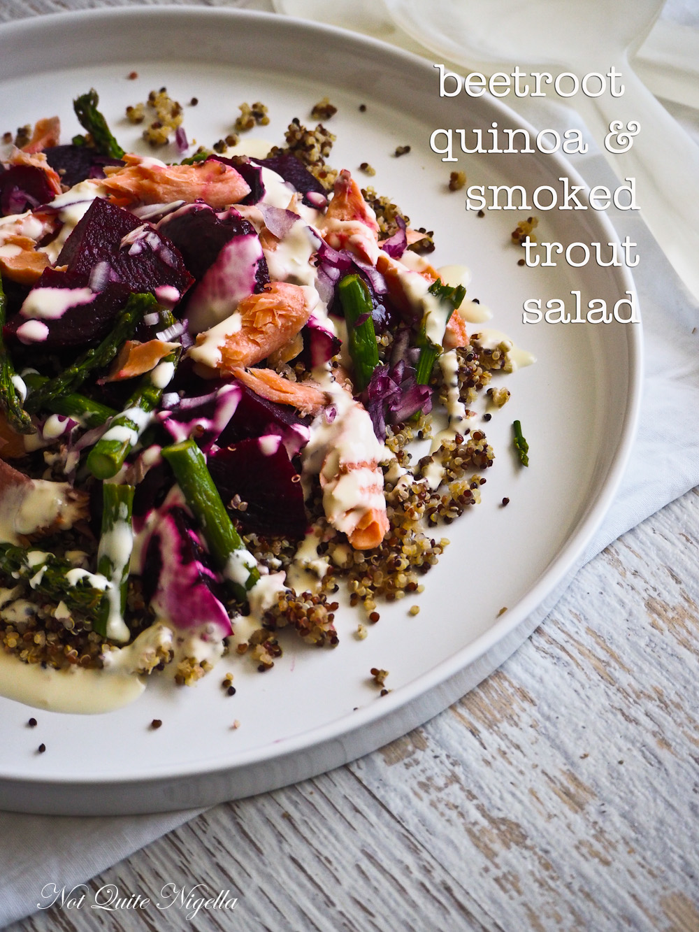 Beetroot Quinoa Salad