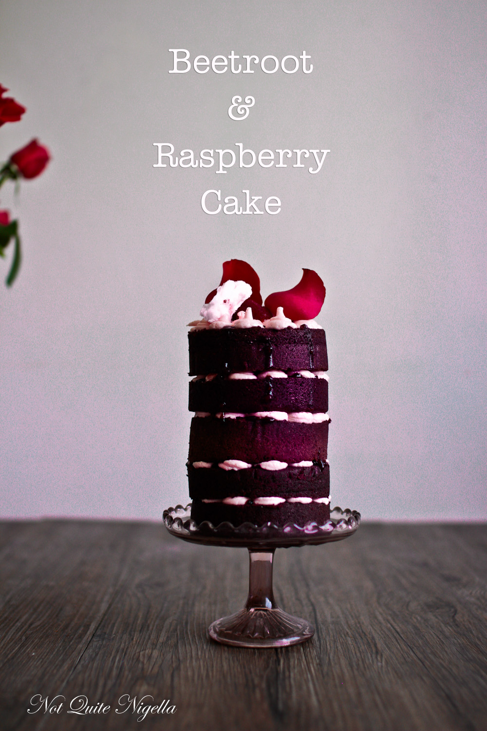 Beetroot Raspberry Cake