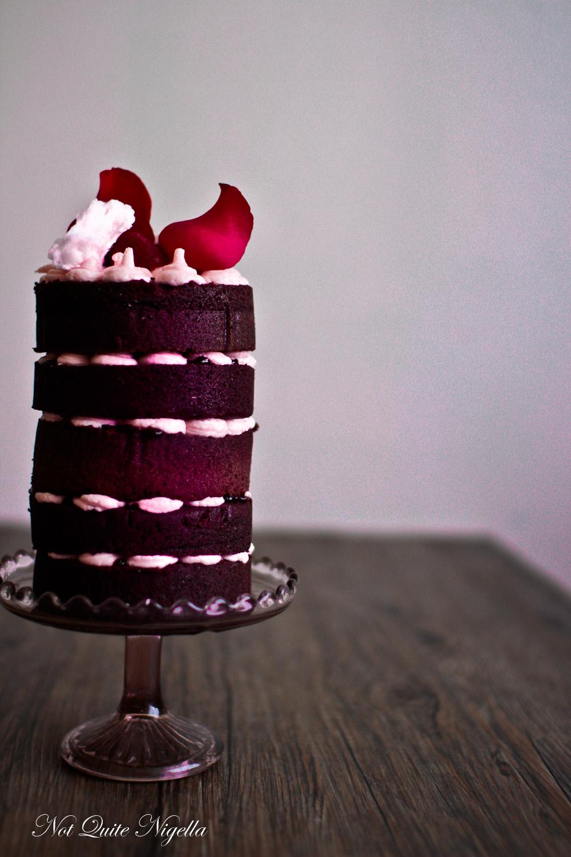 Beetroot Raspberry Cake