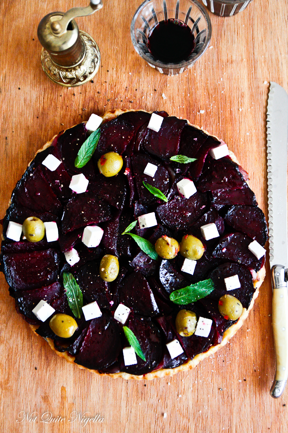 Beetroot & Feta Tarte Tatin & The Results of Cook With Me!