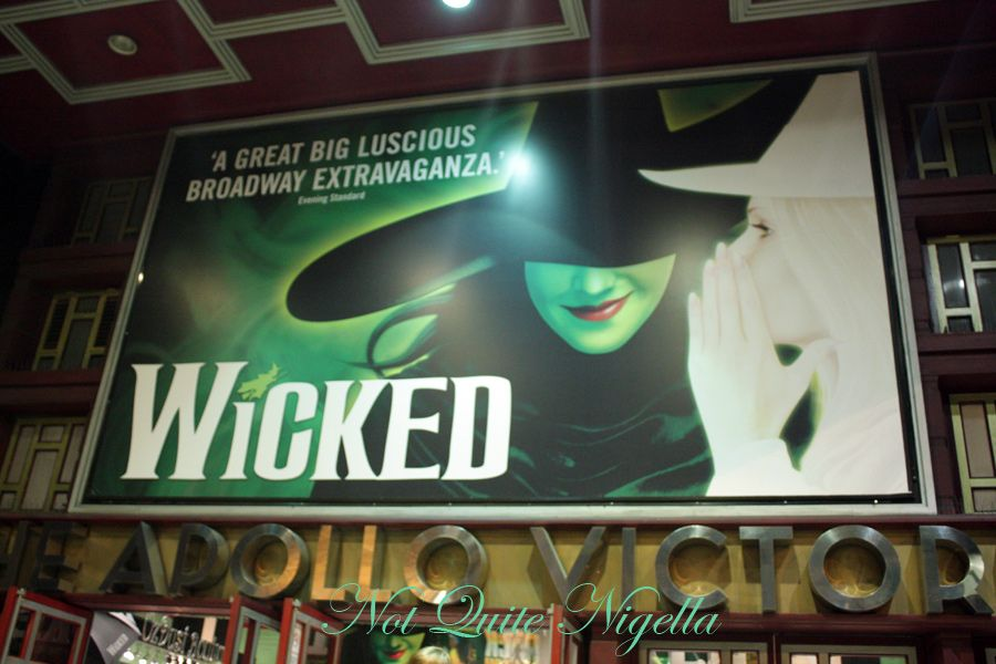 Wicked at the Appollo theatre
