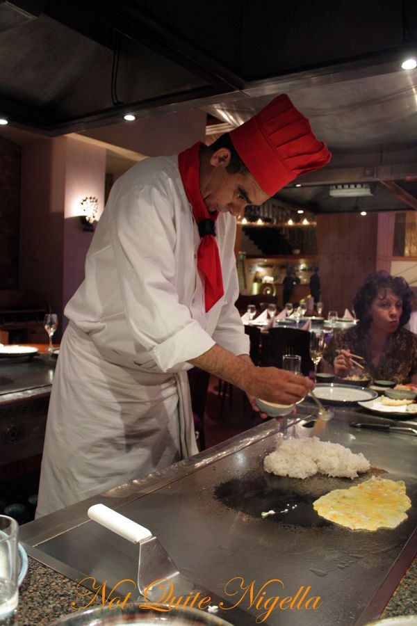 Benihana Kings Road London chef