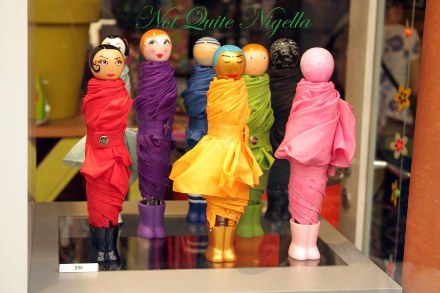 Ile saint louis umbrellas
