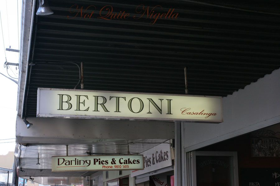 Bertoni's Casalinga at Balmain