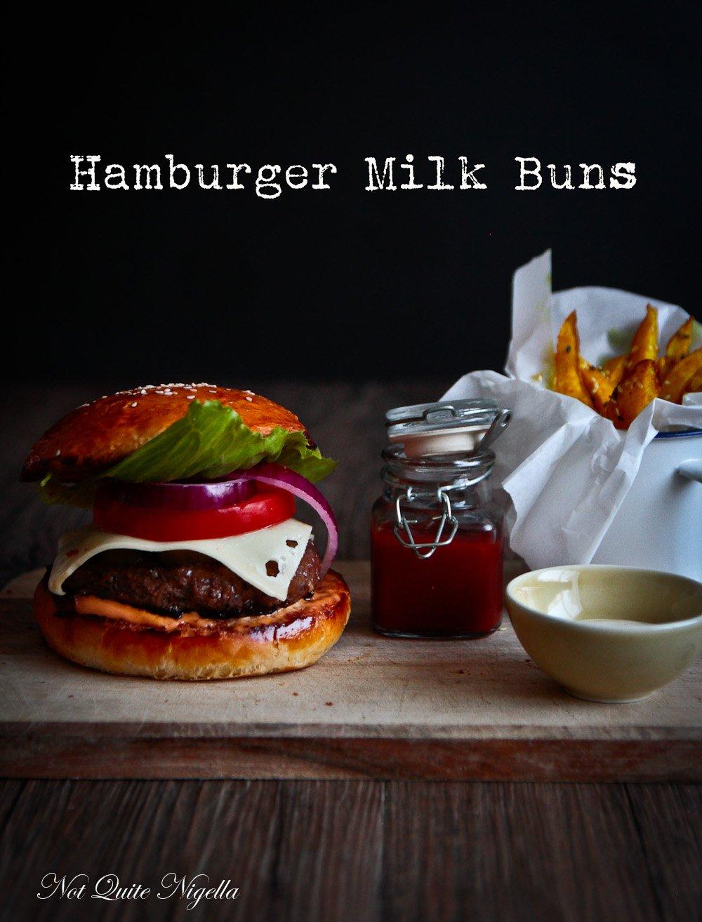 Hamburger Milk Buns