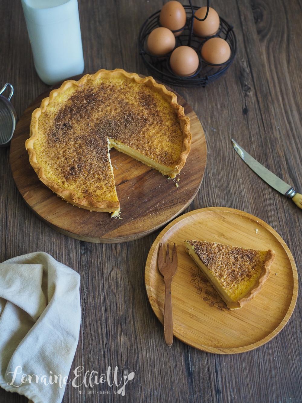 BEST Custard Tart With Nutmeg