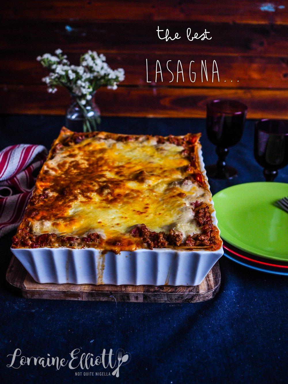 The Best Lasagne recipe