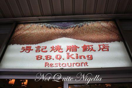 bbq king sign