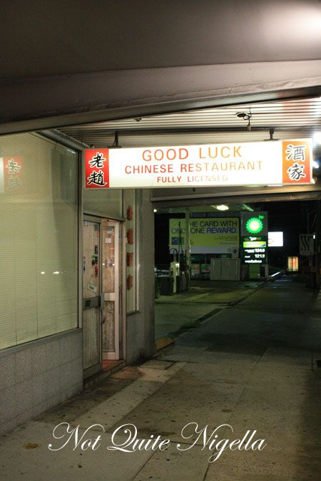 good luck chinese sign