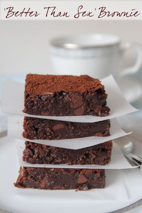 Better Than Sex Chocolate Chestnut Brownies