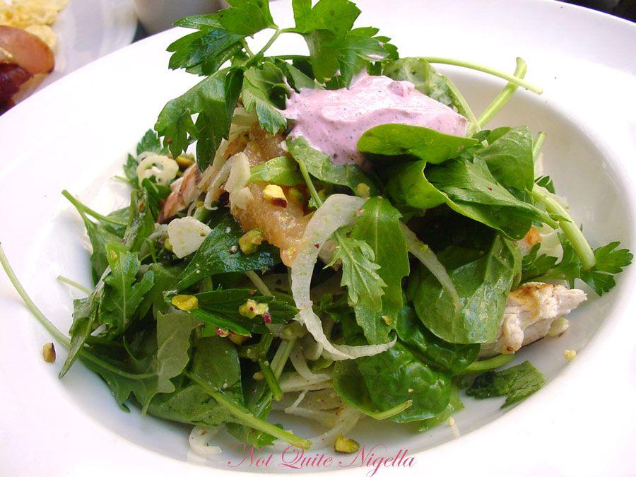 Bills at Woollahra grilled chicken salad