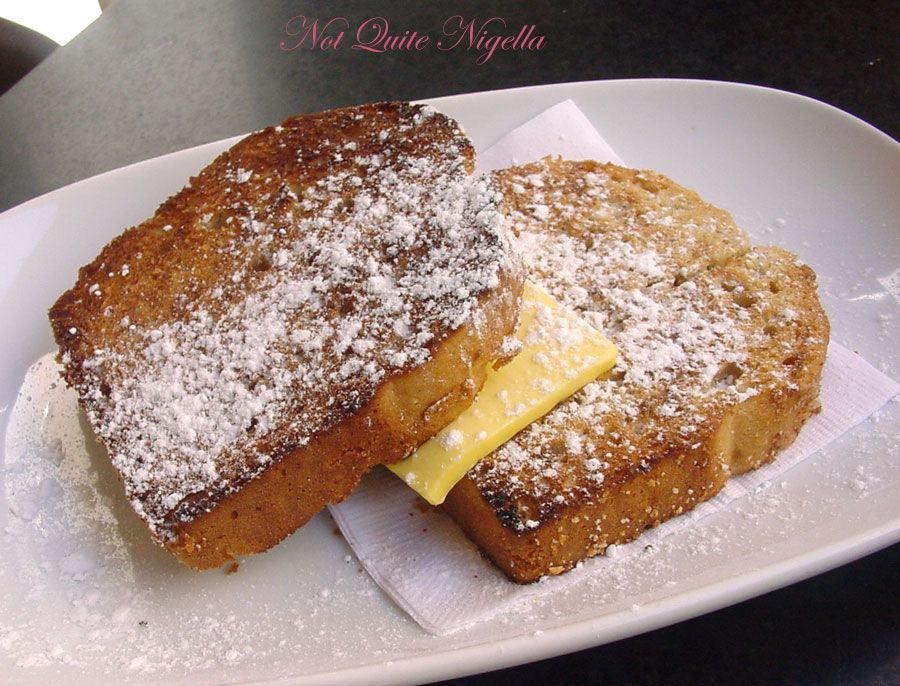 Bills at Woollahra toasted coconut bread