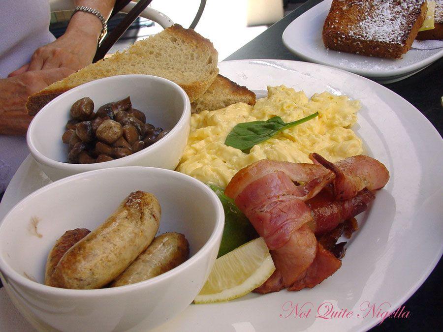 Bills at Woollahra scrambled eggs