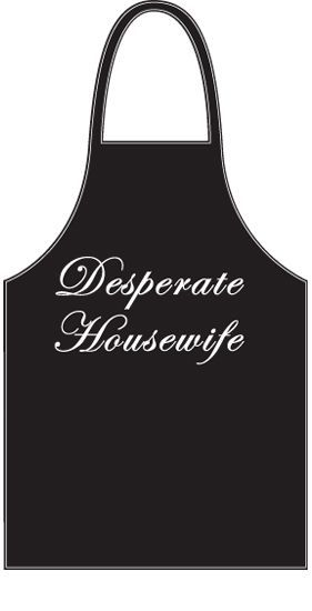 Desperate Housewife apron