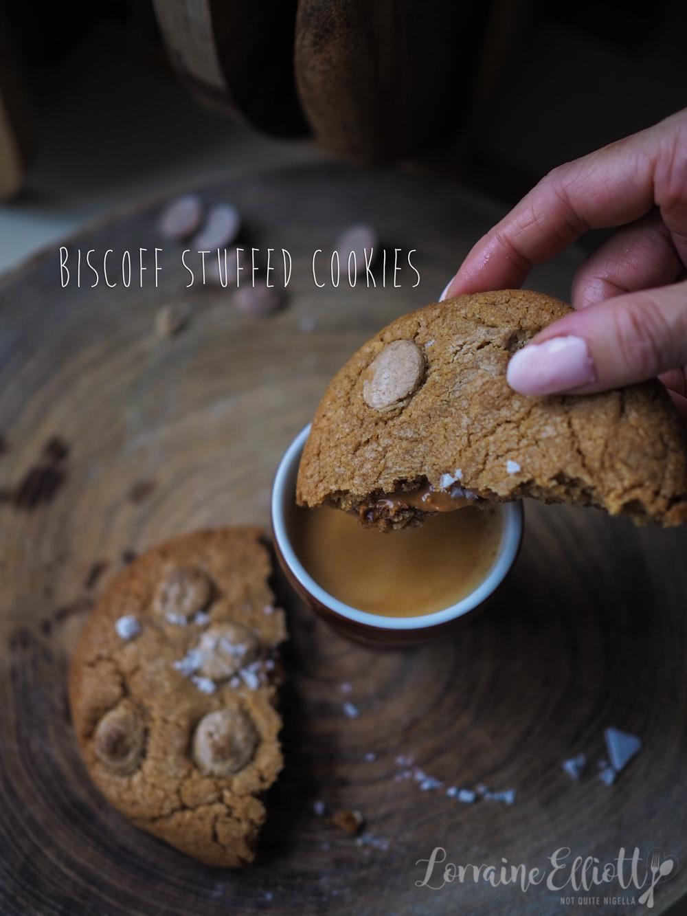 Stuffed Biscoff Cookies