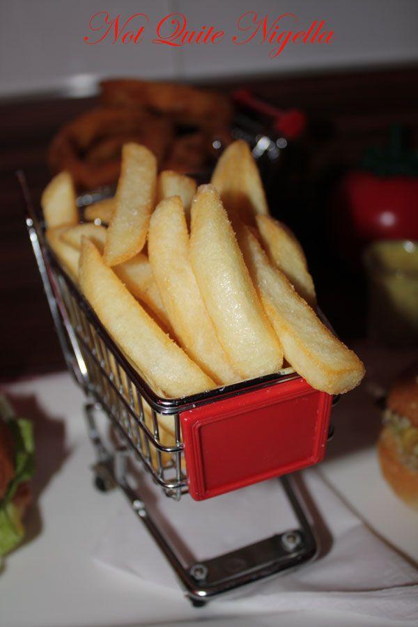 Bite Me Burger Company fries