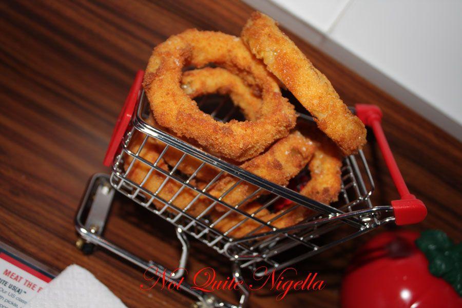 Bite Me Burger Company Paddington Onion rings