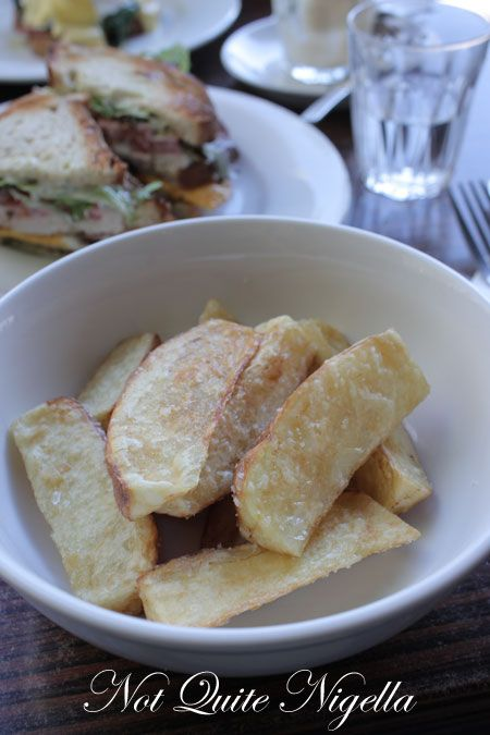 bitton gourmet, alexandria, review, hand cut chips