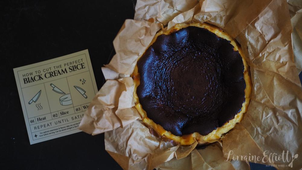 Black Cream Cakes