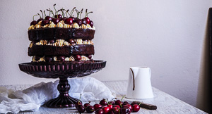 Cherry Spectacular Black Forest Cake!