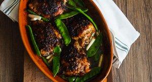 Spicy & Sweet Black Pepper Sauce Chicken