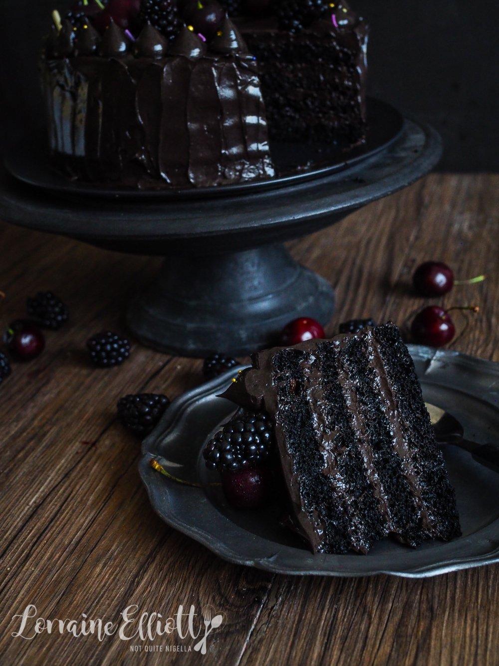 Black Velvet Cake Not Quite Nigella