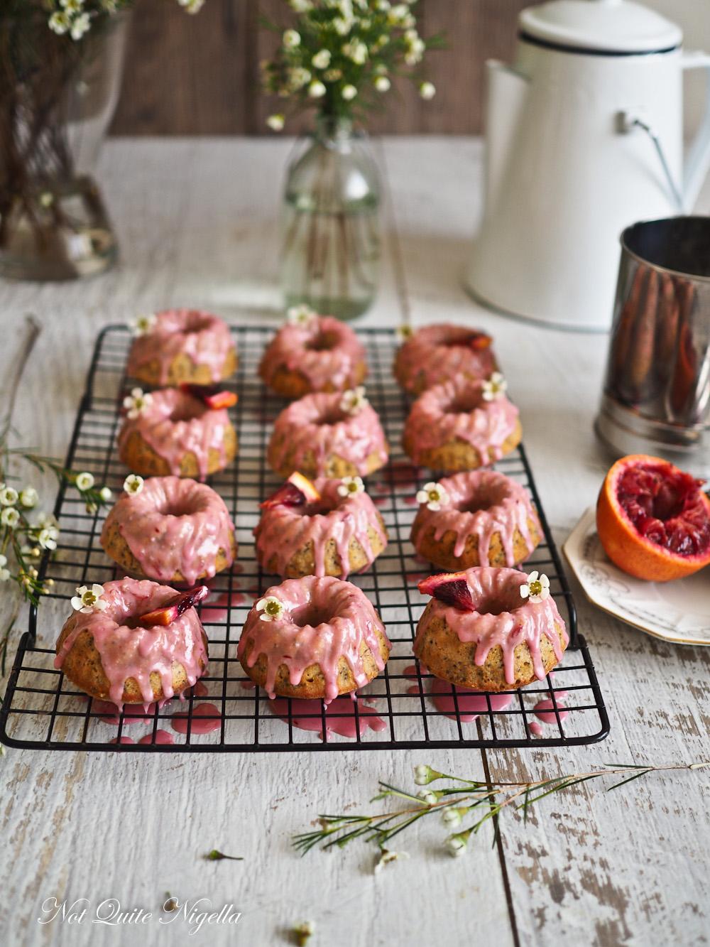 Blood Orange Recipe Bundt Cake