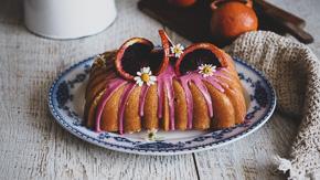 DIVINE Blood Orange Yogurt Cake & Some Exciting News!