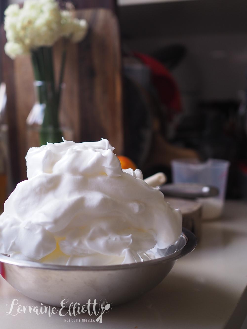 Blood Orange Chiffon Cake recipe