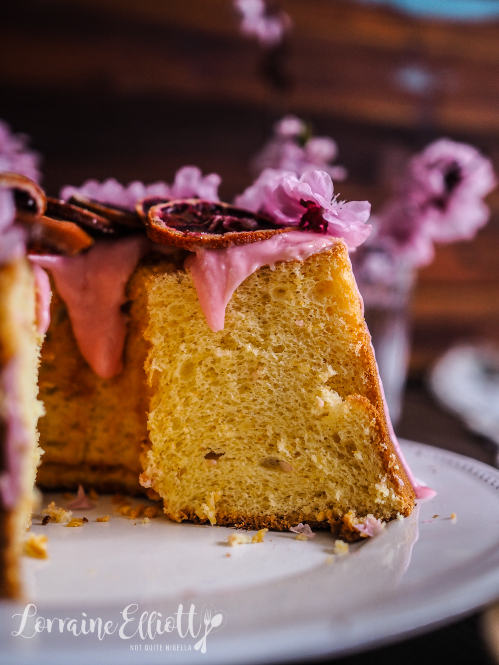 Blood Orange Chiffon Cake recipe