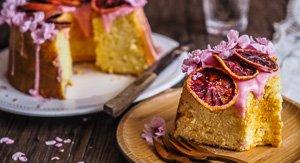 Rashida, The Divine Blood Orange Chiffon Cake