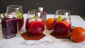 DIVINE & EASY Blood Orange Syrup!