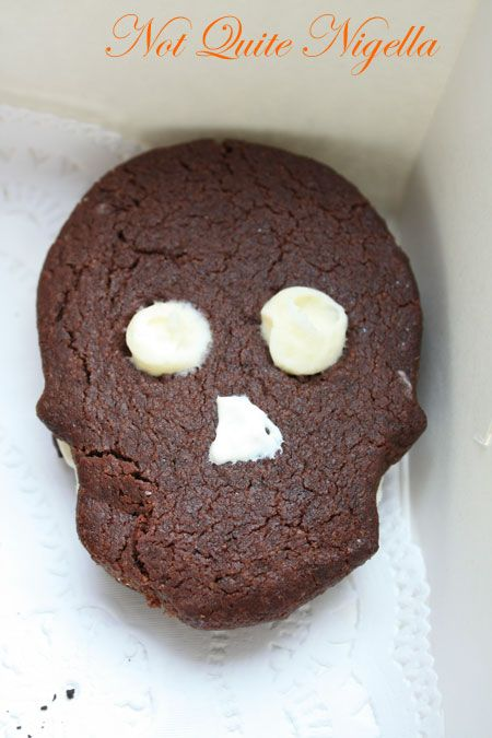 buppas skull cookie