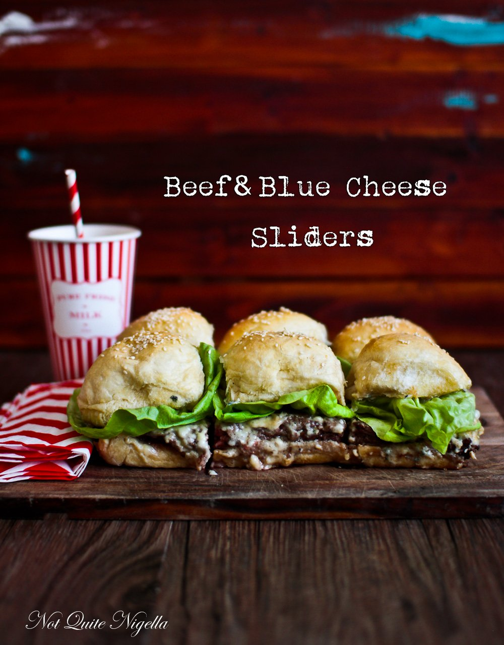 Beef Blue Cheese Sliders