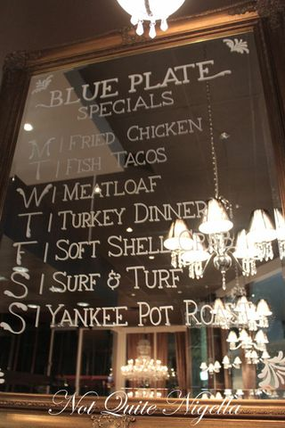 blue plate bar and grill, neutral bay, review