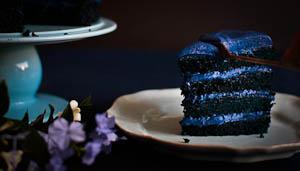 She Wore Blue Velvet...Ivy, The Blue Velvet Cake