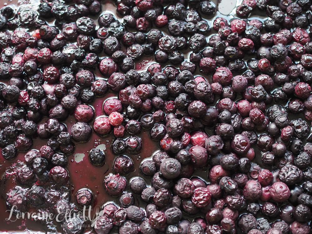 Blueberry Cinnamon Buns
