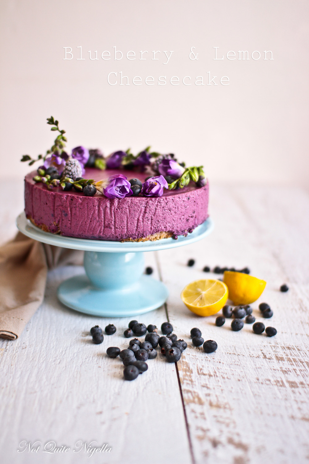 Lemon And Blueberry Cake Nigella