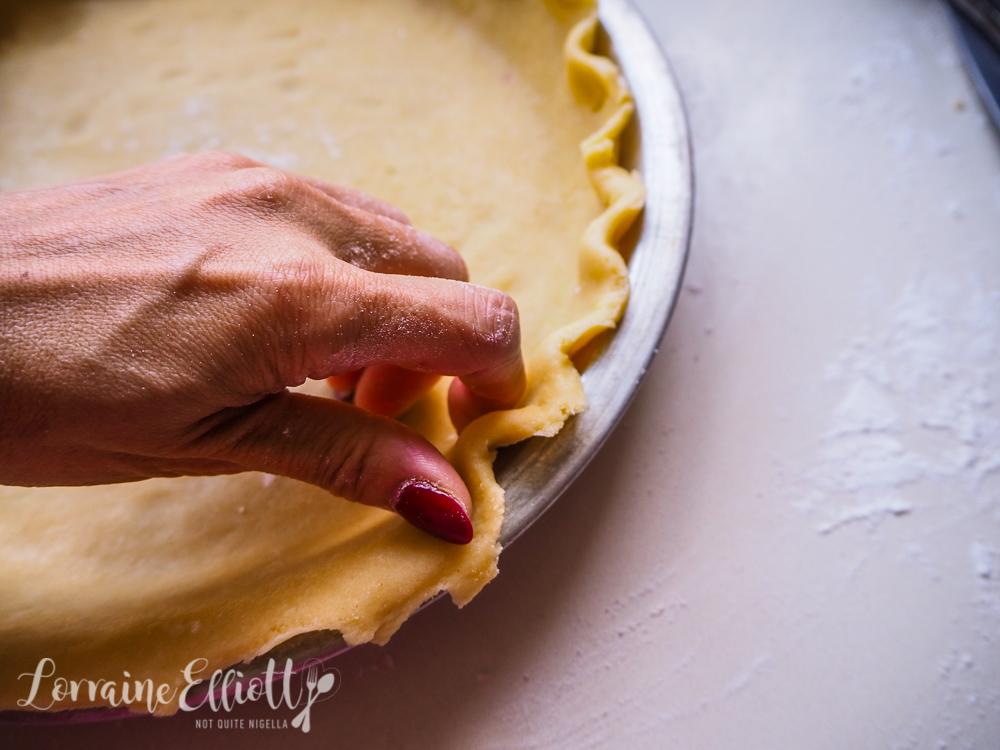 Blueberry Pie Fancy Crust