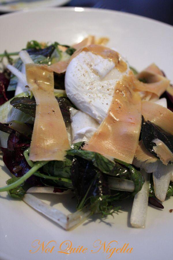 Bluebird cafe chelsea foie gras salad