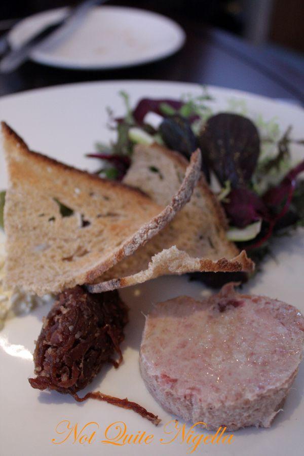 Bluebird Chelsea London pork rillette