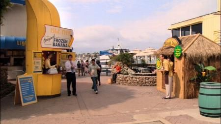 Bluth's Frozen bananas stand