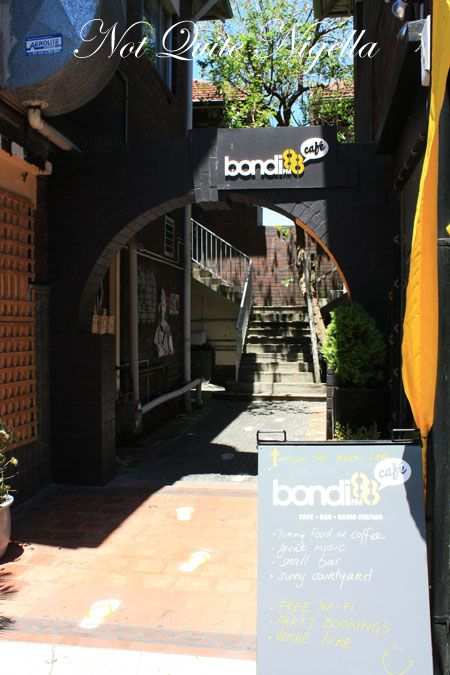 bondi fm cafe outside