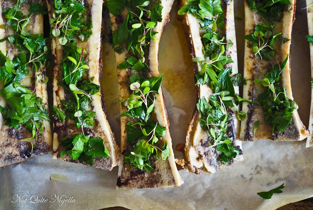 Bone Marrow Toast