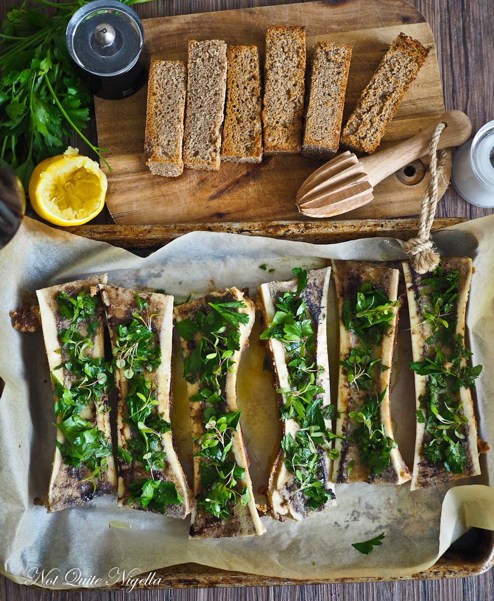 Bone Marrow Toast