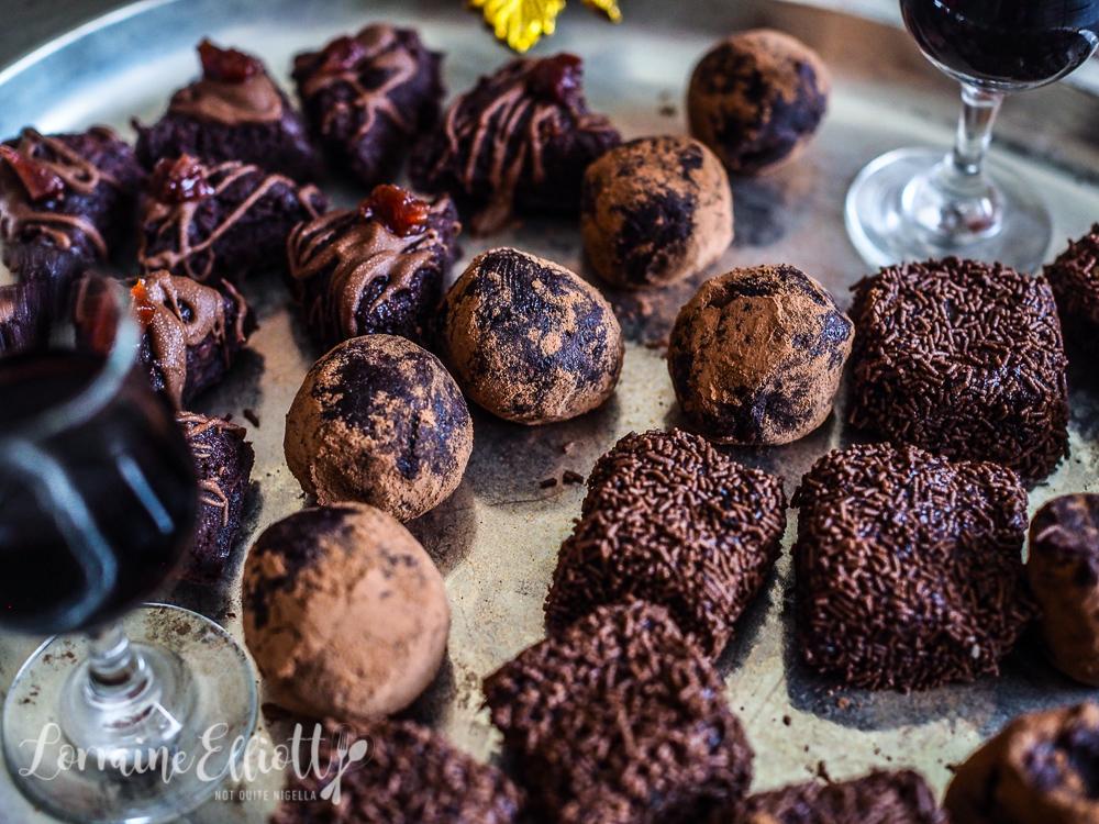 Gin, Whisky, Rum, Sherry and Coffee Boozy Chocolate Truffles